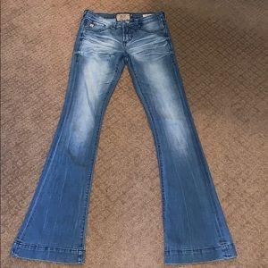 dear john skinny flare jeans